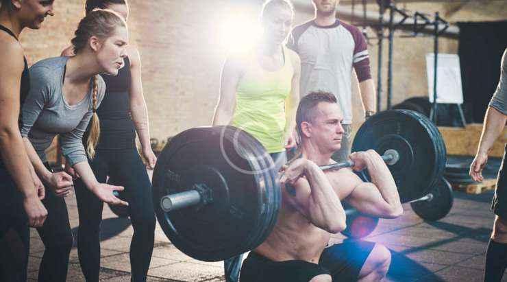 Weightlift competition super challenge